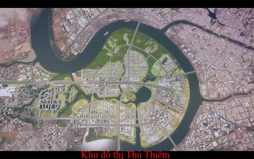 Khu đô thị Thủ Thiêm Quận 2