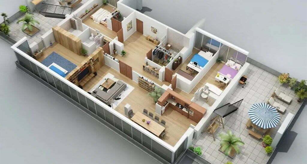 Bán căn hộ New City 6 phòng ngủ