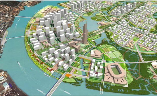 Quy hoạch khu đô thị Thủ Thiêm quận 2