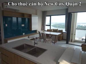 Cho thuê căn hộ New City Quận 2