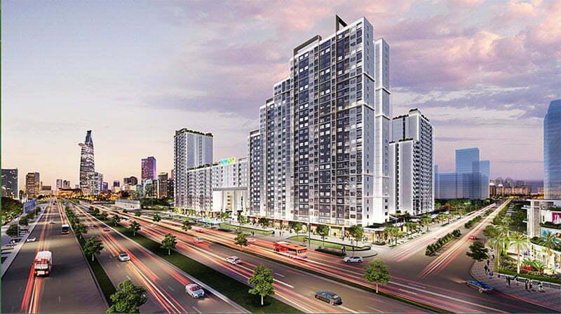 Cho thuê căn hộ New City Thủ Thiêm 1 2 3 phòng ngủ
