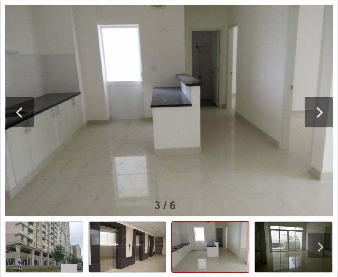 Cho thuê chung cư Bình Khánh Quận 2 giá rẻ
