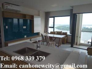 Phòng khách căn hộ mẫu New City Quận 2
