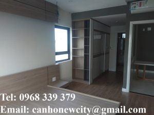 Phòng ngủ căn hộ mẫu New City Thuận Việt