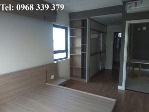 Phòng ngủ căn hộ New City cho thuê