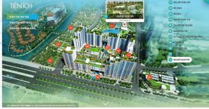 Facilities New City Thu Thiem project of district 2