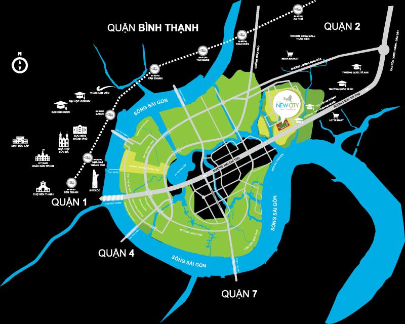 New City Thủ Thiêm Bình Khánh Quận 2