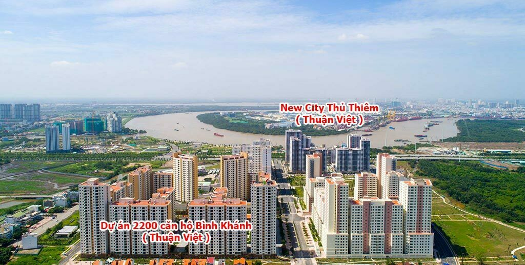 Căn hộ chung cư Thuận Việt Quận 2 bán và cho thuê
