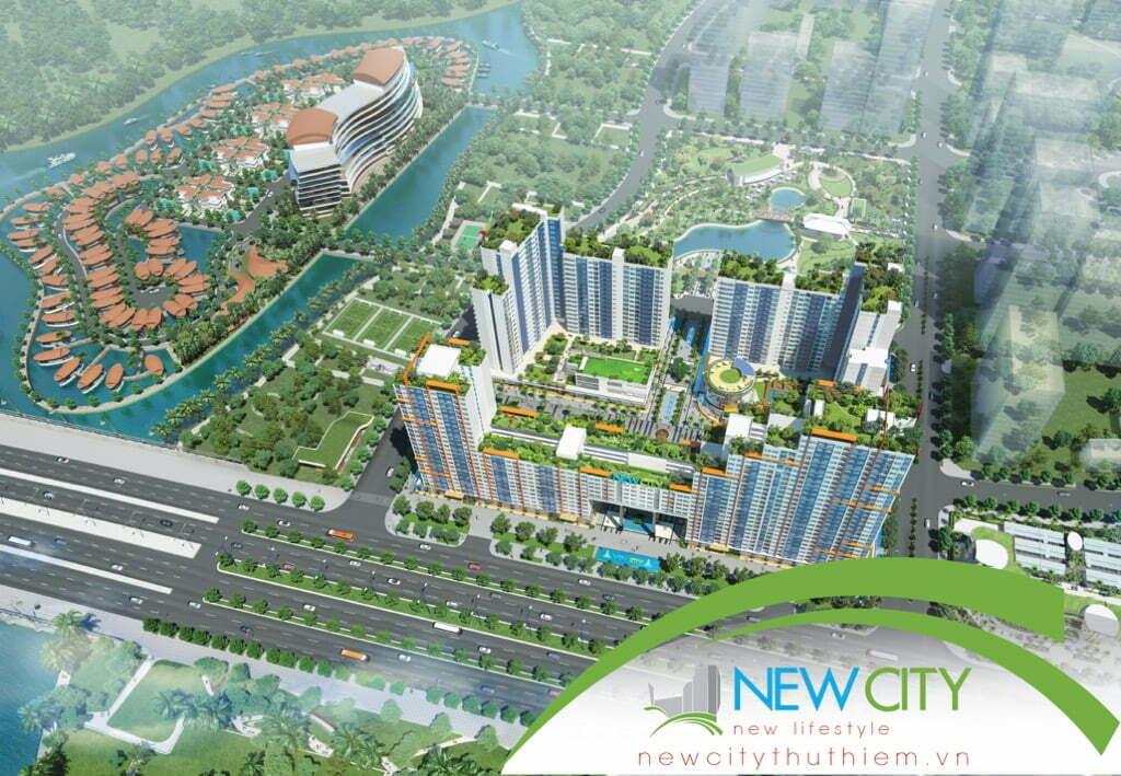 Căn hộ New City Thủ Thiêm của Thuận Việt