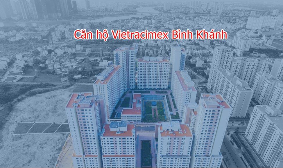 Căn hộ Vietracimex Bình Khánh bán giá tốt