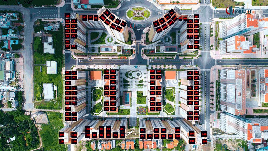Mặt bằng chung cư Thuận Việt Q2