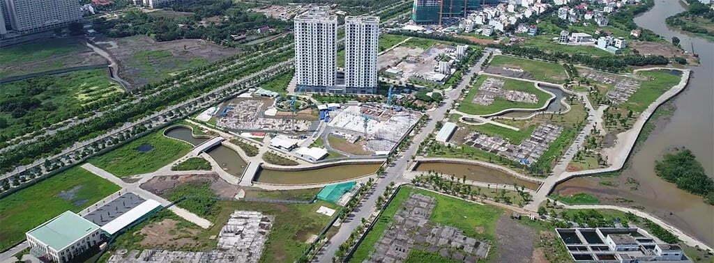 Khu 30,2 ha căn hộ Bình Khánh Quận 2