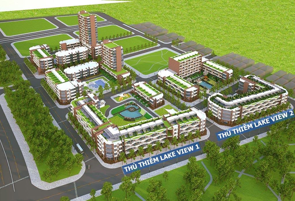 Bán căn hộ Thủ Thiêm Lake View 2 của CII