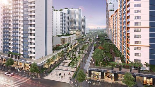 Hình phối cảnh dự án New City Thủ Thiêm